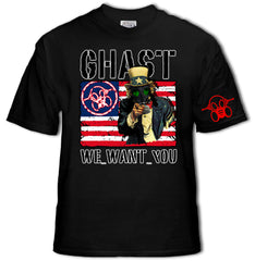 Ghast Uncle Ghast Wants You T-Shirt (Black)