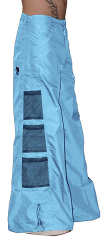 Ghast Wide Bottom Raver Pants (Light Blue)