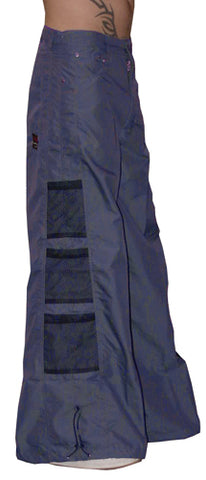 Ghast Wide  Bottom Raver Pants (Navy Blue)