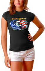 Girls Biker Shirts - Lady Biker Girls T-Shirt