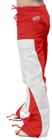 "Girls ""Elliptic"" UFO Pants (Red/White)"