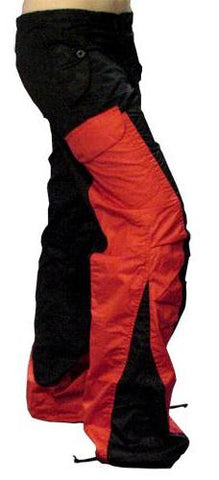 "Girls Hipster ""Elliptic"" UFO Pants (Black/Red)"