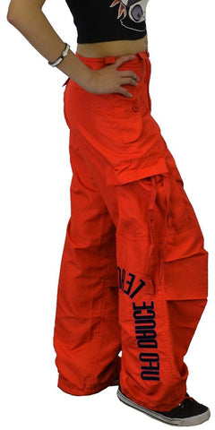 "Girls ""Hipster"" UFO Dance Team Pants (Red)"