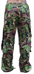 "Girls ""Hipster"" UFO Pants (Green Camo)"