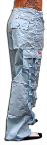 "Girls ""Hipster"" UFO Pants (Light Blue)"