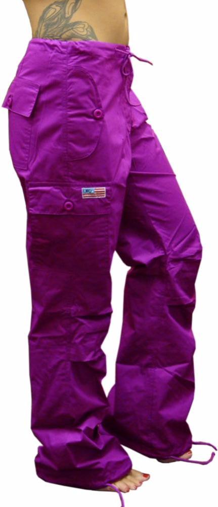 "Girls ""Hipster"" UFO Pants (Magenta)"