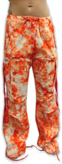 Girls Hipster UFO Pants (Orange Tie Dye)