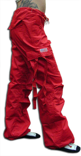 "Girls ""Hipster"" UFO Pants (Red)"