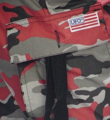 "Girls ""Hipster"" UFO Pants (Red Camo)"