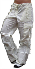 "Girls ""Hipster"" UFO Pants (White)"
