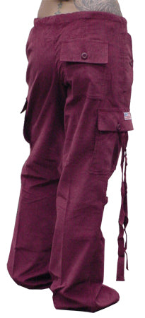 Girls UFO Hipster Pants  (Extreme Comfort Cords)  (Burgundy)