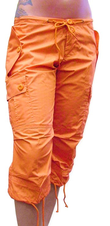 Girls UFO Hipster Shorts (Bright Orange)