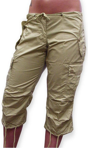 Girls UFO Hipster Shorts (Khaki)