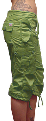 Girls UFO Hipster Shorts (Olive)