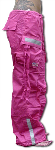 Girls UFO Reflective Hipster Pants (Hot Pink)