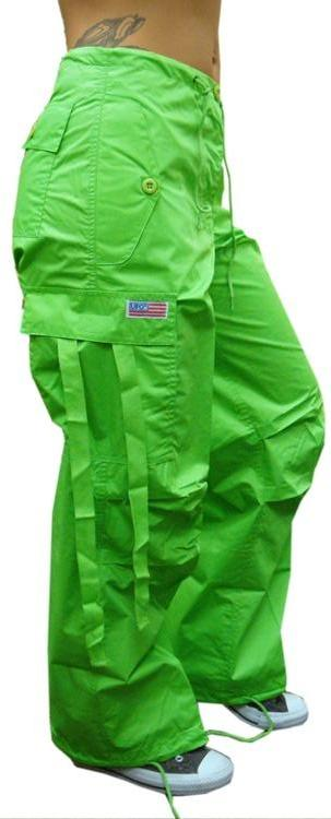 Girly Basic UFO Pants (Limey)