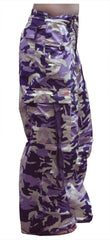 Girly Basic UFO Pants (Purple Camo)