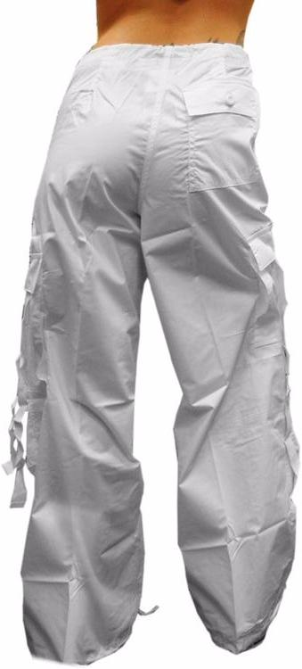 Girly Basic UFO Pants (White)