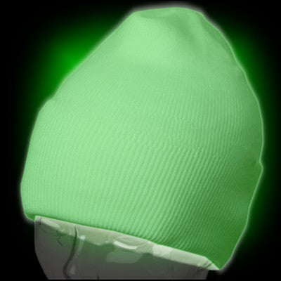 Glow in The Dark Hat - Super Glowing Skull Cap  Beanie