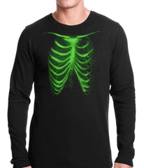 Glow In The Dark Ribcage Thermal Shirt