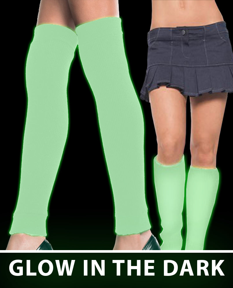 Glow in the Dark Thigh High Stockings