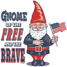 Gnome Of The Free And The Brave T-Shirt