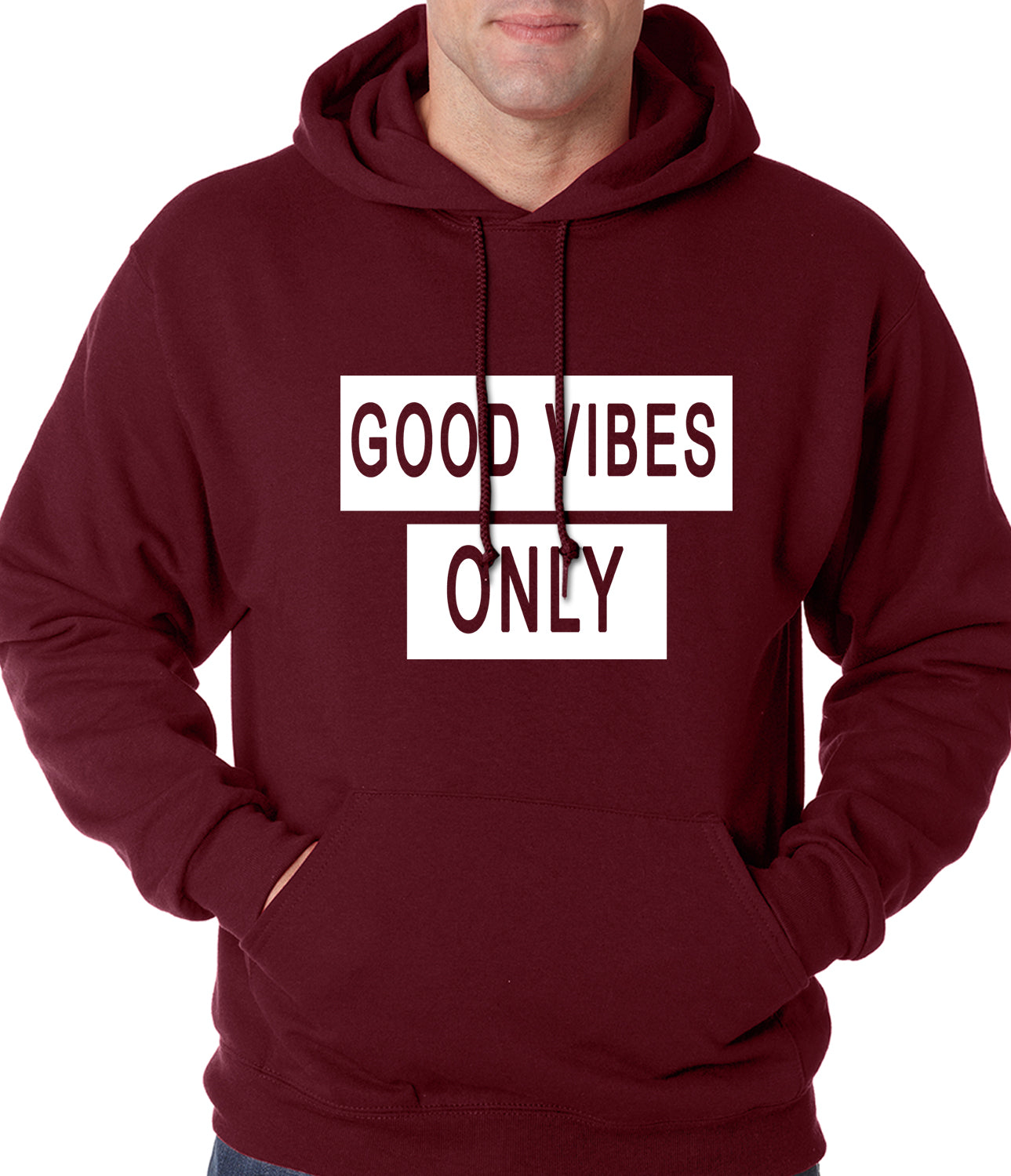 Good Vibes Only Adult Hoodie