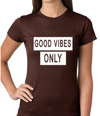 Good Vibes Only Girls T-shirt