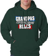Grandpas are Dads Without Rules Adult Hoodie