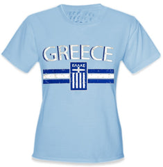 Greece Vintage Shield International Girls T-Shirt