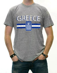 Greece Vintage Shield International Mens T-Shirt