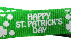 Green Happy St. Patrick's Day Lanyard