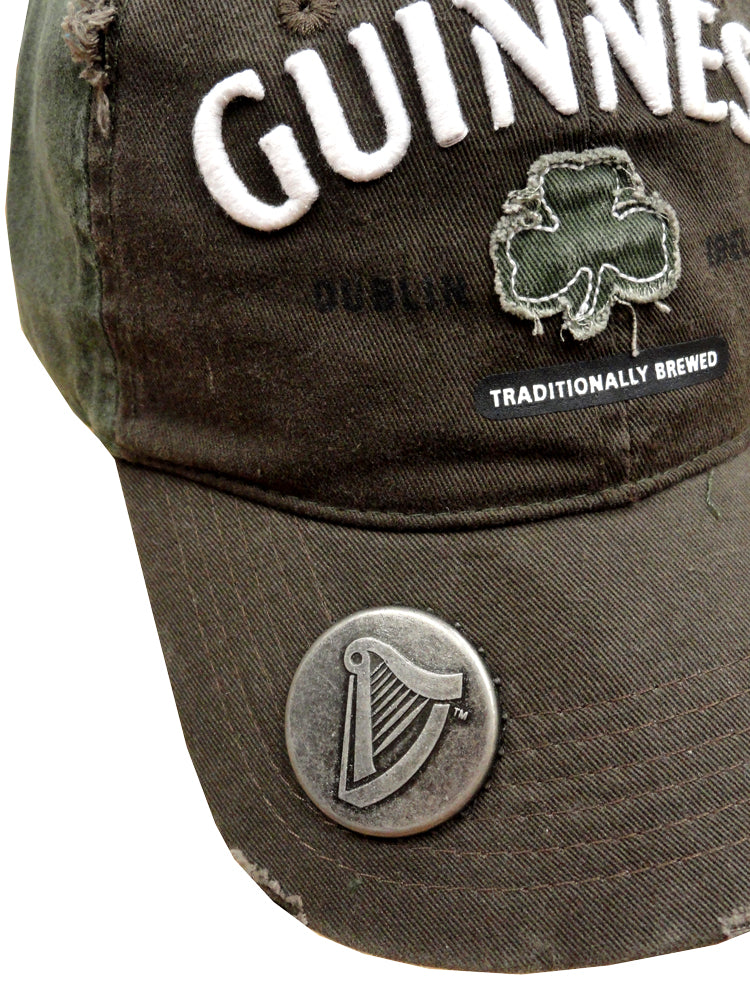 "Guinness ""Traditionally Brewed"" Bottle Opener Snapback Hat"