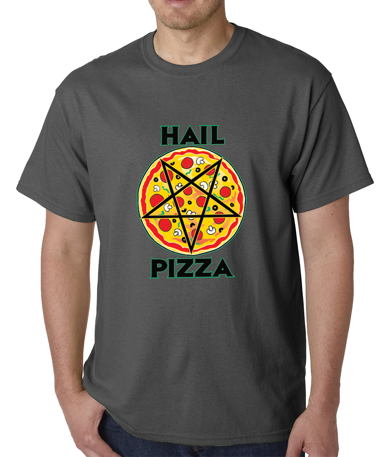 Hail Pizza Mens T-shirt