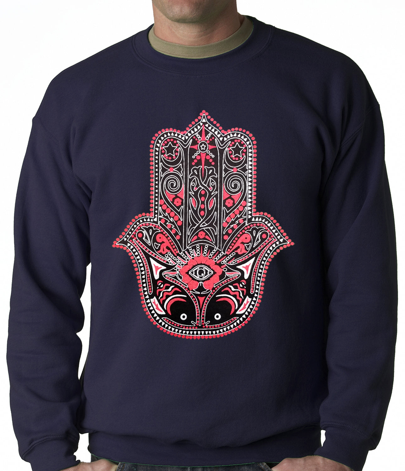 Hamsa - Hand of Protection Crewneck