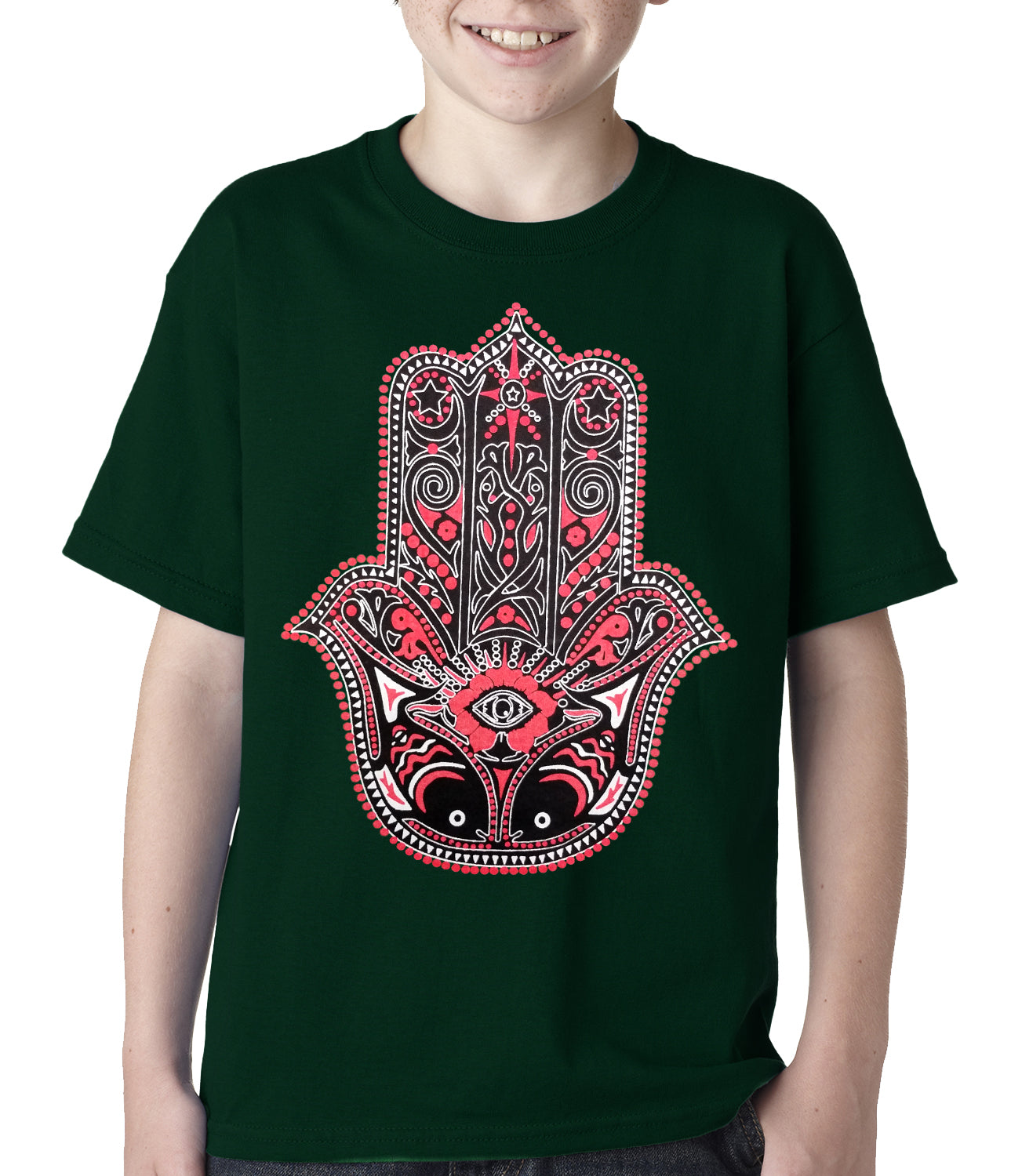 Hamsa - Hand of Protection Kids T-shirt