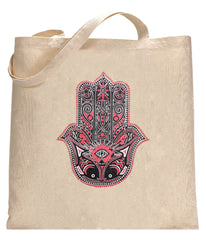Hamsa - Hand of Protection Totebag