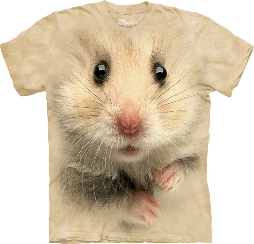 Hamster Big Face Men's T-Shirt