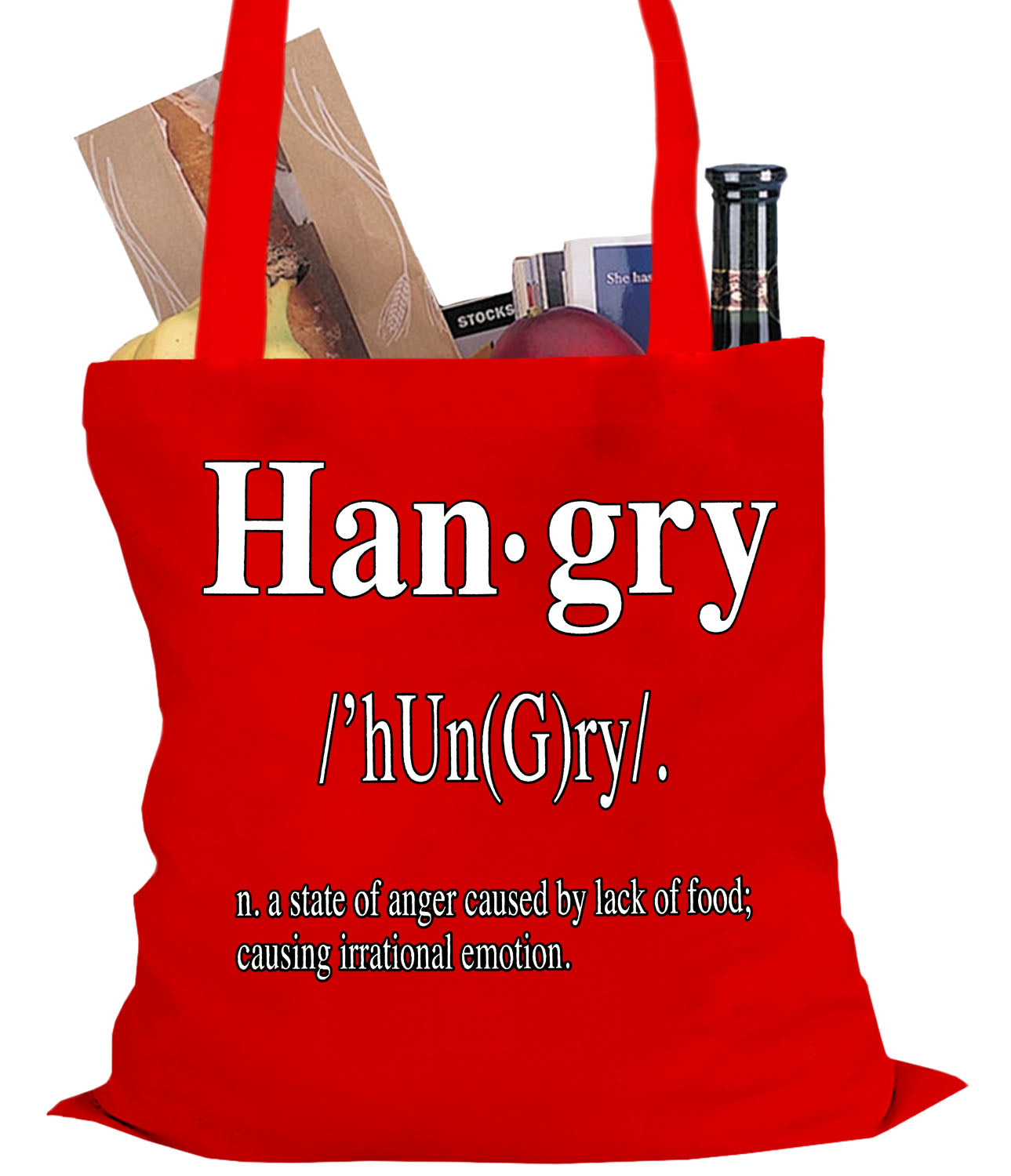 Hangry Definition Tote Bag