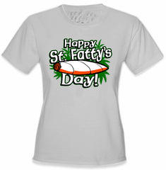 Happy St. Fatty's Day Girl's T-Shirt