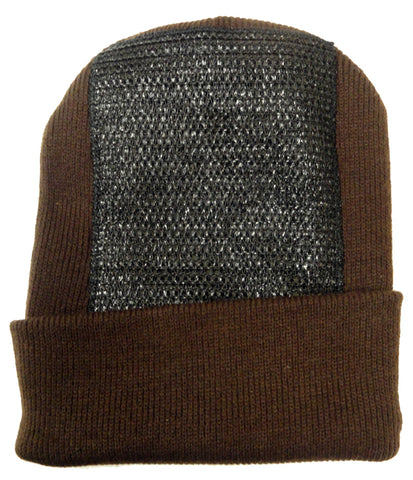 Head Spin Beanies - BBOY Headspin Break Dance Beanie (Dark Brown / Black)