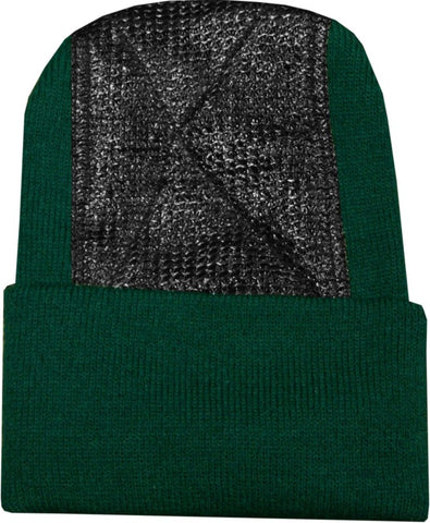 Head Spin Beanies - BBOY Headspin Break Dance Beanie (Hunter Green / Black)
