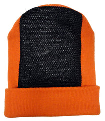 Head Spin Beanies - BBOY Headspin Break Dance Beanie (Orange / Black)