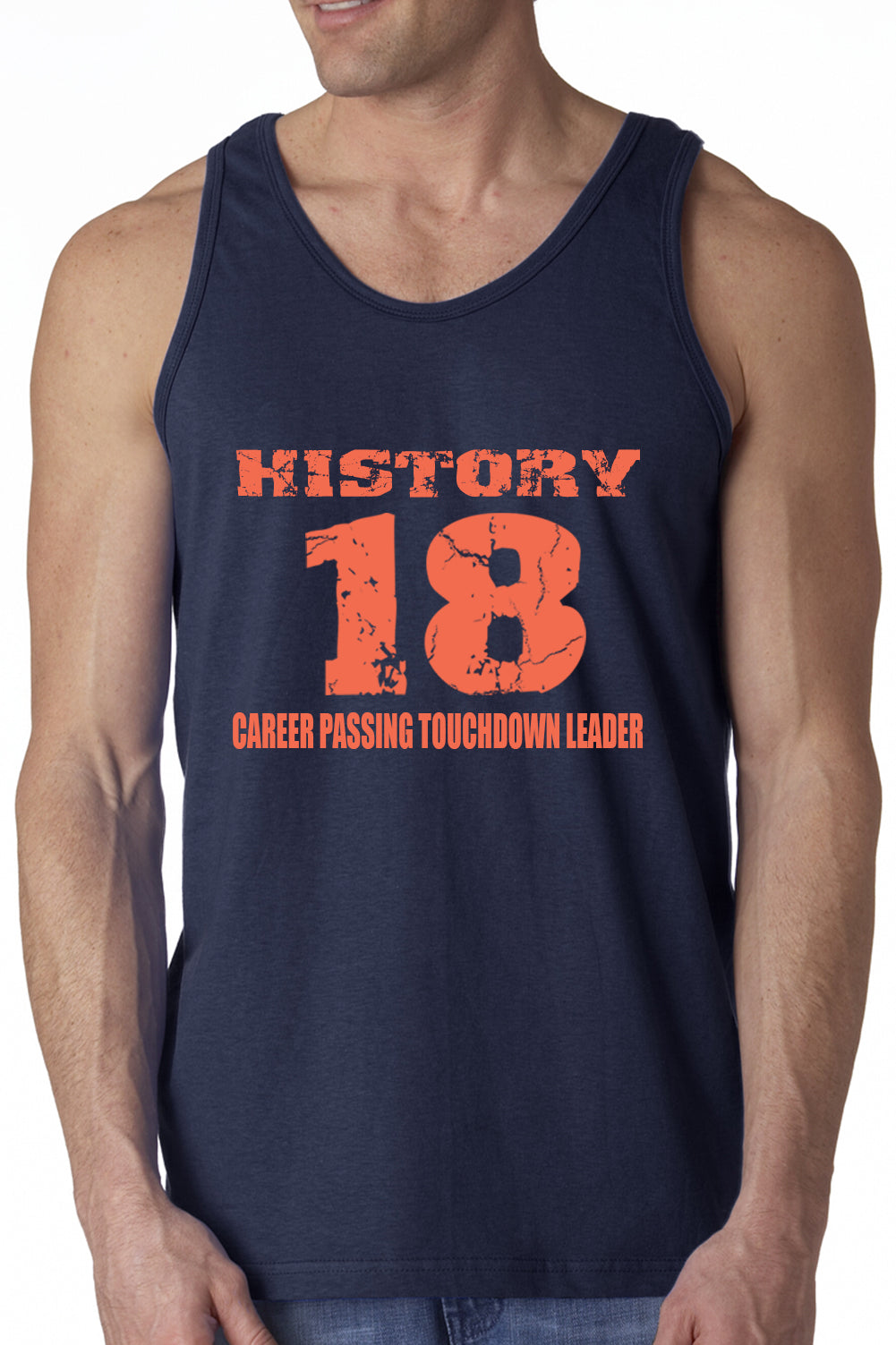 History 18 Manning Record Breaking Tanktop