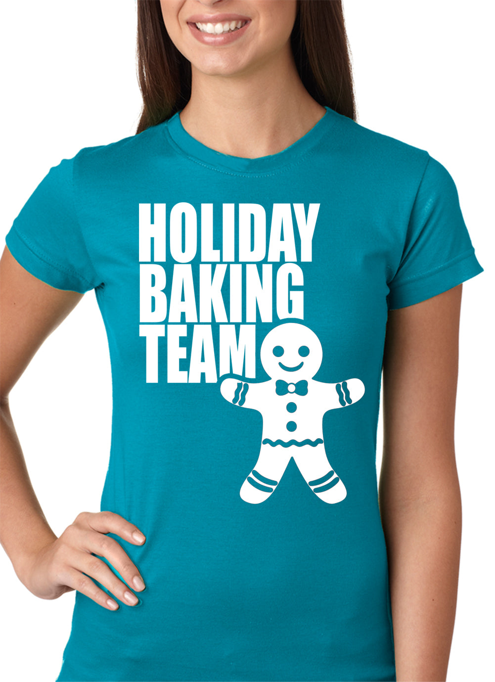 Holiday Baking Team Christmas Cookies Girls T-shirt