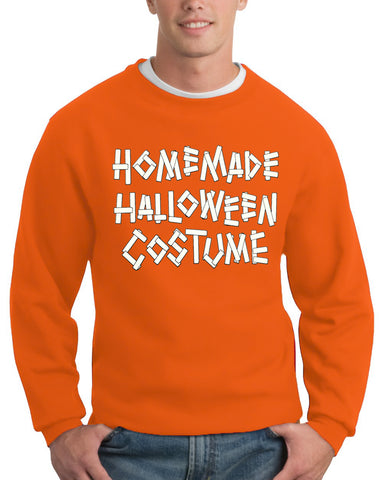 Home Made Halloween Costume Adult Crewneck