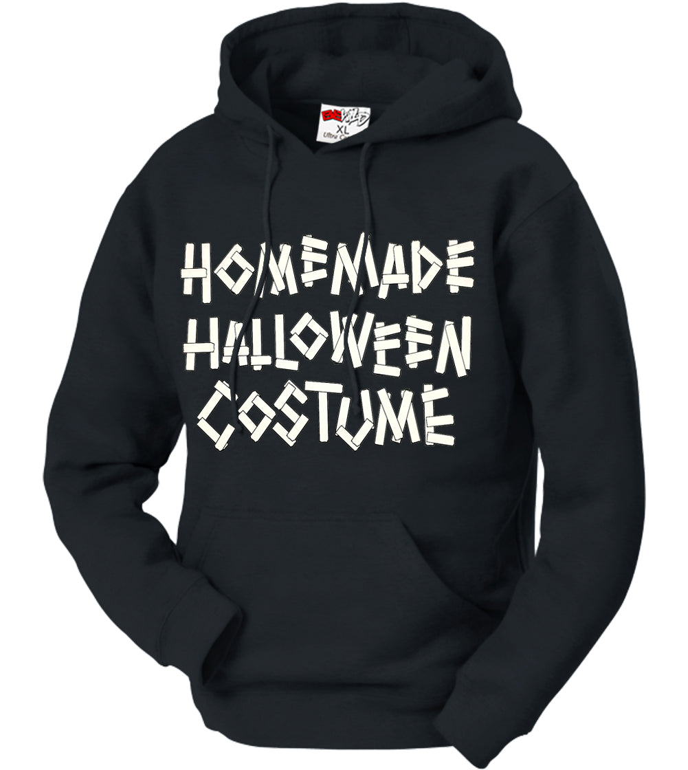 Home Made Halloween Costume Adult Hoodie