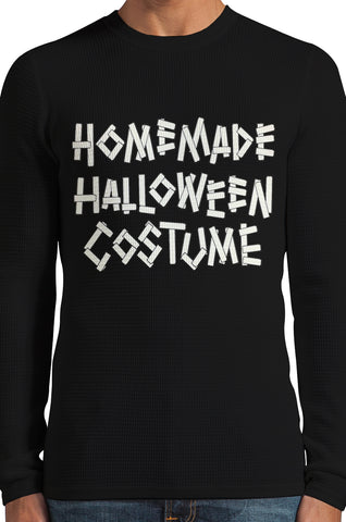 Home Made Halloween Costume Thermal Long Sleeve Shirt