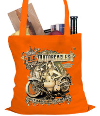 Hot Babes and Cold Beer Biker Tote Bag