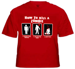 How To Kill A Zombie T-Shirt